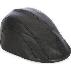 Czapka męska 83-HF-100-1. Czarne czapki zimowe męskie marki Wittchen, na zimę, z bawełny, klasyczne. Za 209,00 zł.