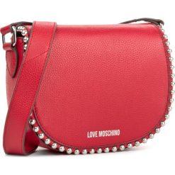 Torebka LOVE MOSCHINO - JC4125PP15L20500  Rosso. Czerwone listonoszki damskie Love Moschino, ze skóry, na ramię. W wyprzedaży za 529,00 zł.
