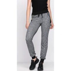 Spodnie dresowe damskie: Ciemnoszare Spodnie Dresowe Disperse
