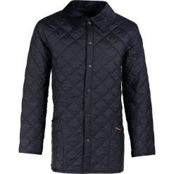 Płaszcze męskie: Barbour Krótki płaszcz navy