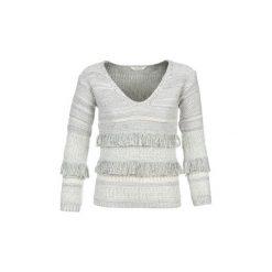Swetry Naf Naf  MINTER. Białe swetry klasyczne damskie NAF NAF, l. Za 255,20 zł.