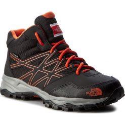 Buty trekkingowe chłopięce: Trekkingi THE NORTH FACE – Hedgehog Hiker Mid Wp T0CJ8QNMY Tnf Black/Mandarin Red