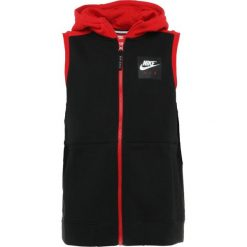 Bejsbolówki męskie: Nike Performance HOODIE VEST AIR Bluza rozpinana black/university red