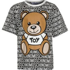 T-shirty chłopięce z nadrukiem: MOSCHINO MAXI  Tshirt z nadrukiem black