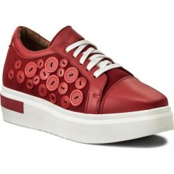 Sneakersy EVA MINGE - Coin 3Y 18MJ1372451ES 108. Czerwone sneakersy damskie marki Eva Minge, ze skóry. W wyprzedaży za 229,00 zł.