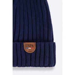 Czapki zimowe męskie: U.S. Polo – Komplet czapka + szalik