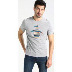 T-shirty męskie z nadrukiem: Original Penguin ENGINEERED STRIPE PETE  Tshirt z nadrukiem rain heather