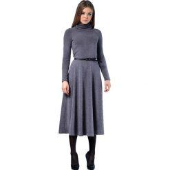 Długie sukienki: Sukienka w kolorze szarym
