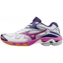 Buty sportowe damskie: Mizuno Buty Sportowe Wave Bolt 5 White/Rosebud/Mulberry Purple 5 (38)