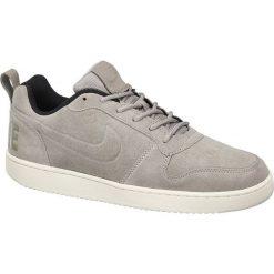 Buty sportowe męskie: buty męskie Nike Court Borough Low NIKE popielate