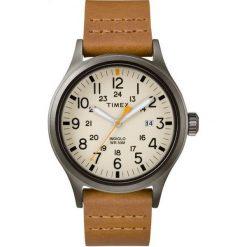 Biżuteria i zegarki męskie: Zegarek Timex Męski TW2R46400 Allied Indiglo brązowy