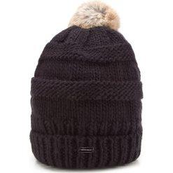 Czapka damska 87-HF-200-1. Czarne czapki zimowe damskie marki Wittchen, na zimę, z dzianiny. Za 119,00 zł.