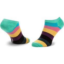 Skarpety Niskie Unisex HAPPY SOCKS - KEH01-6001 Kolorowy. Szare skarpetki damskie Happy Socks, w kolorowe wzory, z bawełny. Za 39,90 zł.