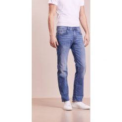 BOSS ATHLEISURE KANSAS Jeansy Straight Leg blight blue. Niebieskie jeansy męskie marki BOSS Athleisure, m. Za 629,00 zł.