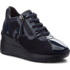 Sneakersy GEOX - D Zosma A D848LA 0ASHH C4002 Navy. Niebieskie sneakersy damskie Geox, z materiału. Za 559,00 zł.