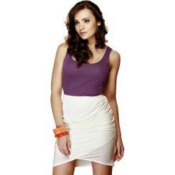 Odzież damska: Spódnica Figl w kolorze kremowym
