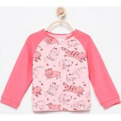 Bluza w kotki - Różowy. Czerwone bluzy niemowlęce marki Reserved. Za 29,99 zł.