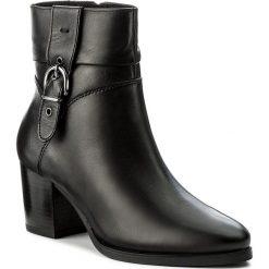 Botki CAPRICE - 9-25340-39 Black Nappa 022. Czarne buty zimowe damskie Caprice, ze skóry. W wyprzedaży za 249,00 zł.
