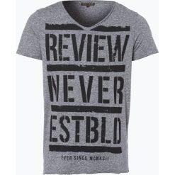 T-shirty męskie z nadrukiem: Review – T-shirt męski, czarny