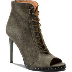 Botki EVA MINGE - Paterna 3I 18BD1372373ES 269. Zielone buty zimowe damskie Eva Minge, ze skóry. W wyprzedaży za 339,00 zł.