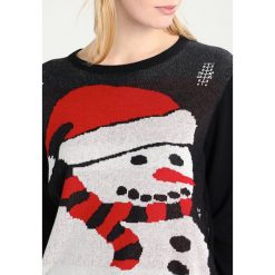 Swetry klasyczne damskie: Freequent SANTA Sweter black