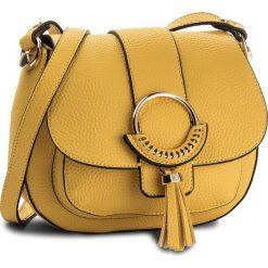 Torebka LIU JO - S Saddle Portland N18027 E0058 Lemon Peel 40754. Żółte torebki klasyczne damskie Liu Jo. W wyprzedaży za 349,00 zł.