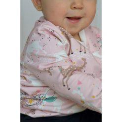 Różowa bluza dziecięca jelonki. Czerwone bluzy dziewczęce marki Pakamera. Za 85,00 zł.