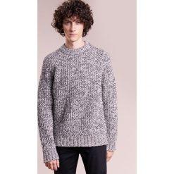 Swetry klasyczne męskie: J.LINDEBERG TWIST Sweter stone grey melange