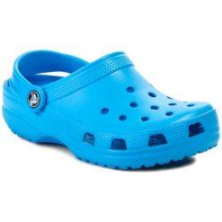 Klapki CROCS - Classic Kids 10006 Ocean. Niebieskie klapki chłopięce marki Crocs, z tworzywa sztucznego. Za 129,00 zł.