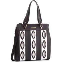 Torebka MONNARI - BAG2340-020 Black With White. Czarne torebki klasyczne damskie marki Monnari, ze skóry ekologicznej. W wyprzedaży za 209,00 zł.