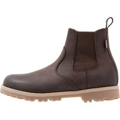 Froddo Śniegowce dark brown. Brązowe buty zimowe chłopięce Froddo, z materiału. W wyprzedaży za 251,30 zł.