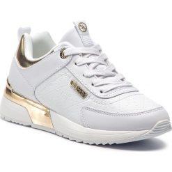 Sneakersy GUESS - FL5MRL FAL12 WHITE. Białe sneakersy damskie Guess, z materiału. Za 529,00 zł.