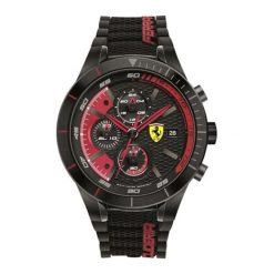 """Zegarek """"0830260-RED-REV-EVO"""" w kolorze czarnym. Czarne, analogowe zegarki męskie Lacoste, sztuczne. W wyprzedaży za 979,95 zł."""