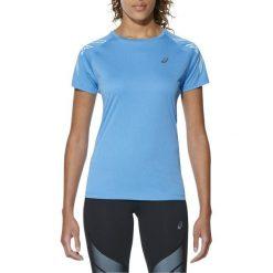Bluzki damskie: Asics Koszulka damska Stripe Top Asics Diva Blue Heather r. XS (1262328156)