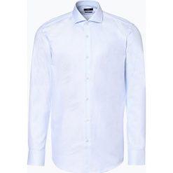 BOSS - Koszula męska – Jason, niebieski. Szare koszule męskie marki S.Oliver, l, z bawełny, z włoskim kołnierzykiem, z długim rękawem. Za 429,95 zł.