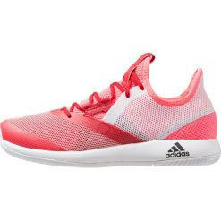 Adidas Performance ADIZERO DEFIANT BOUNCE  Obuwie do tenisa Outdoor flash red/footwear white/scarlet. Czerwone buty do tenisu damskie adidas Performance. Za 399,00 zł.