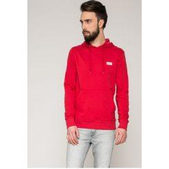 Jack & Jones - Bluza. Szare bluzy męskie rozpinane marki Jack & Jones, l, z bawełny, z kapturem. W wyprzedaży za 69,90 zł.