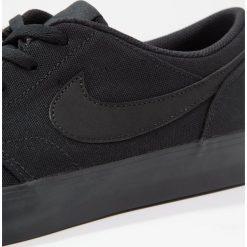 Nike SB PORTMORE II SS CNVS Tenisówki i Trampki black. Czarne tenisówki męskie Nike SB, z materiału. Za 269,00 zł.