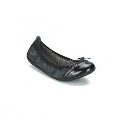 Baleriny LPB Shoes  CAPRICE METAL. Czarne baleriny damskie lakierowane LPB Shoes. Za 151,20 zł.