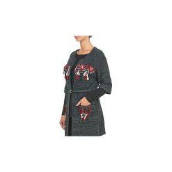 Swetry rozpinane / Kardigany See U Soon  MAHO. Szare kardigany damskie marki See u Soon. Za 383,20 zł.