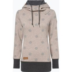 Ragwear - Damska bluza nierozpinana – Yoda Dots, beżowy. Brązowe bluzy damskie marki Ragwear, l. Za 309,95 zł.