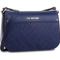 Torebka LOVE MOSCHINO - JC4028PP16LE0750  Blu. Niebieskie listonoszki damskie Love Moschino, ze skóry ekologicznej. Za 719,00 zł.