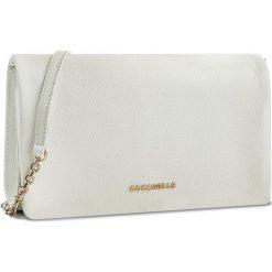 Torebka COCCINELLE - BDA Sibilla E1 BDA 19 02 01 Blanche 010. Białe torebki klasyczne damskie Coccinelle, ze skóry. W wyprzedaży za 659,00 zł.