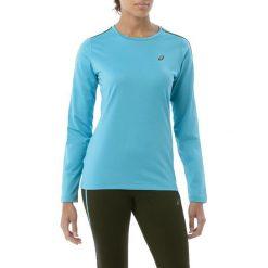 Asics Bluza damska LS Winter Top Aquarium r. XS (62342). Niebieskie bluzy sportowe damskie Asics, xs. Za 150,77 zł.