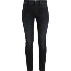 Replay JACKSY PANTS Jeansy Straight Leg blue black denim. Niebieskie jeansy damskie marki Replay. Za 579,00 zł.