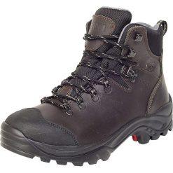 """Buty trekkingowe męskie: Skórzane buty trekkingowe """"Torino 2 DX"""" w kolorze antracytowym"""