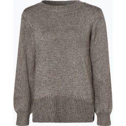 Vila - Sweter damski – Vicleared, szary. Szare swetry klasyczne damskie marki Vila, l, z dzianiny, z okrągłym kołnierzem. Za 179,95 zł.