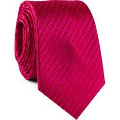 Krawat KWTR001832. Czerwone krawaty męskie Giacomo Conti, z mikrofibry, klasyczne. Za 69,00 zł.