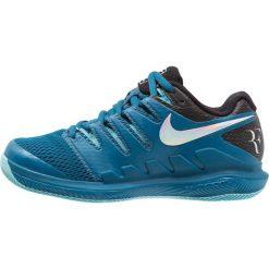 Nike Performance AIR ZOOM VAPOR X HC Obuwie multicourt green abyss/multicolor/bleach. Niebieskie buty do tenisu damskie Nike Performance, z gumy. Za 399,00 zł.