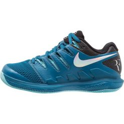 Buty sportowe damskie: Nike Performance AIR ZOOM VAPOR X HC Obuwie multicourt green abyss/multicolor/bleach